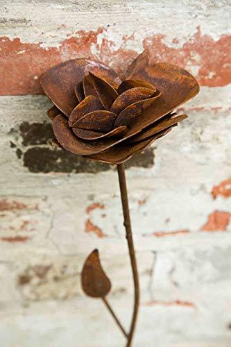 kuheiga Gartenstecker/Dekoblume Rose - 7
