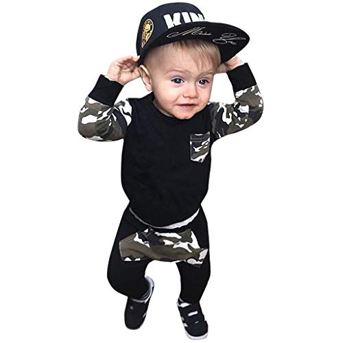 Prinz Outfit Kleinkind - 2PC Sportanzug Kleinkind Kinder Baby Jungen