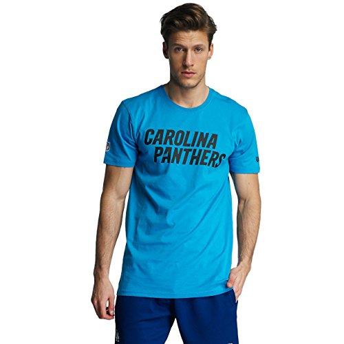 New Era Herren Oberteile/T-Shirt Team App Carolina Panthers Classic Blau