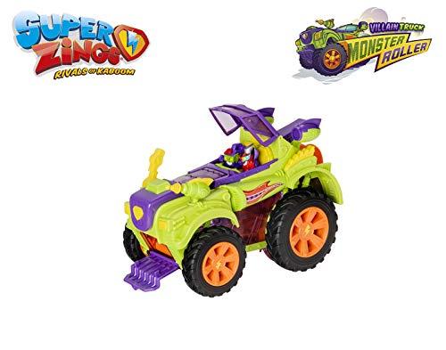 SuperZings- Camión Villano Especial - Vehículos y figuras exclusivas coleccionables, Color verde, Playset (Magic Box PSZSD112IN30) - Solo en Amazon