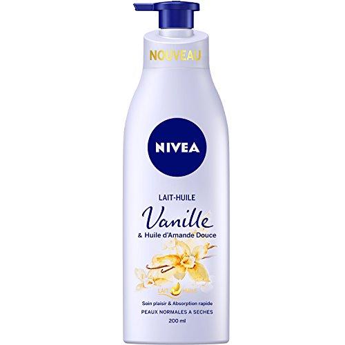 NIVEA Lait-Huile Vanille 200 ml