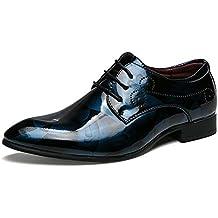 d434befbfec1 Apragaz Uomo Oxford Dress Shoes Colore Tendenza Moda Casual Pelle  Verniciata a Vita Bassa Scarpe da