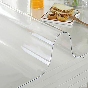 Nappe table film protecteur film protection 2mm unilatérale mat à l/'extérieur 100cm