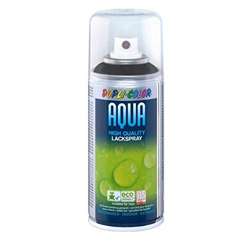 Dupli-Color 476624 Aqua schwarz RAL 9005 matt 150 ml, -