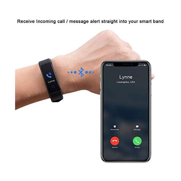 Pulsera Inteligente, rastreador de Actividad Monitor de Ritmo cardíaco