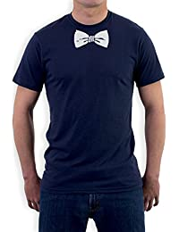 Printed Tuxedo White Bow Tie Funny T-Shirt