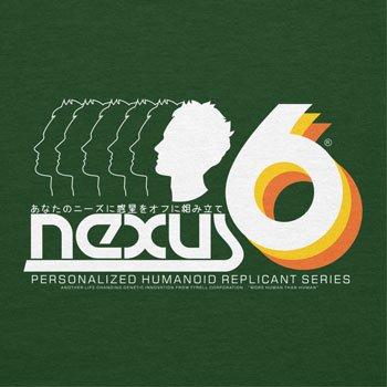 NERDO - Nexus 6 Personalized Humanoid Replicant Series - Herren T-Shirt Flaschengrün