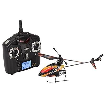 WLToys WL V911 4 Channel 2.4GHz Mini Radio Single Propeller RC Helicopter Gyro V911 [version:x6.9] by DELIAWINTERFEL