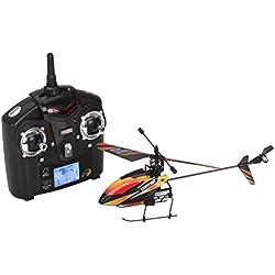 wl v911 mini- 2.4ghz 4 canales de radio rc sola hélice de helicóptero giroscopio v911 [version:x6.9] by DELIAWINTERFEL