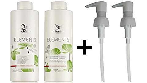 Wella Elements Renewing Shampoo + Lightweight Renewing Conditioner 1000ml +