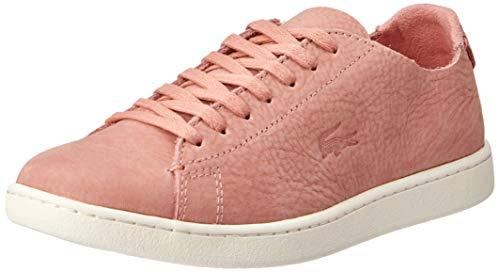 Lacoste Carnaby Evo Sneaker Damen braun, 7 UK - 40.5 EU - 9 US
