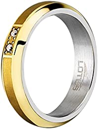 LOTUS STYLE STEEL RING 14 Anillos mujer LS1479-3/114