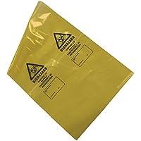 kaysmedical lrg355Biohazard eliminación de residuos bolsas, amarillo (Pack de 50)