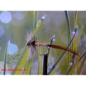"Trockenfliegen "" Mayfly Spinner "" 3er Set, Hakengröße 14"