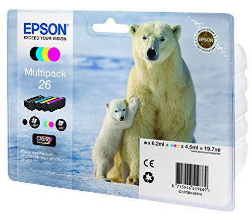 intenpatrone Eisbär, Multipack 4-farbig (Frustfreie Verpackung) ()