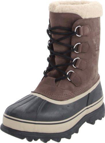 Sorel Caribou Herren Schneestiefel, Braun (Bruno), 40 EU (6 UK) (Calf Herren Mid Boots)