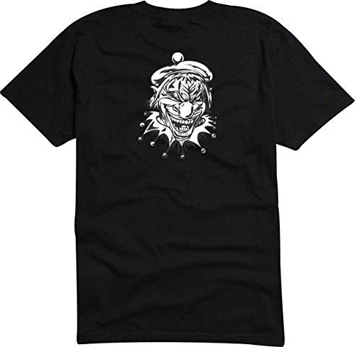 T-Shirt Herren Monster angreifen Digital