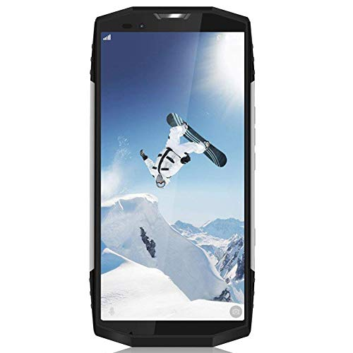 "Blackview BV9000 64GB ROM Dual SIM Outdoor Smartphone, 18:9 5.7"" 4G Telefono da lavoro, 13MP+5MP+8MP IP68 Cellulare, 12V 2A Ricarica Rapida Rugged Smartphone, GPS/GLONASS/NFC/Face ID- Argento (Italy)"