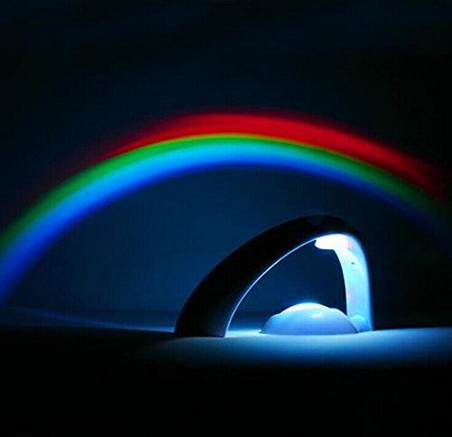 Nachtlicht für Kinder Einschlafhilfe - Lychee LED Projektor Schlaf Regenbogen Projektor - Schlaf, Regenbogen, Projektor, Nachtlicht, Lychee, Led projektor, Kinder, einschlafhilfe kind, einschlafhilfe