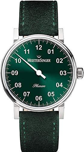 MeisterSinger Phanero PH309 Montre avec une seule aiguille Classique & Simple