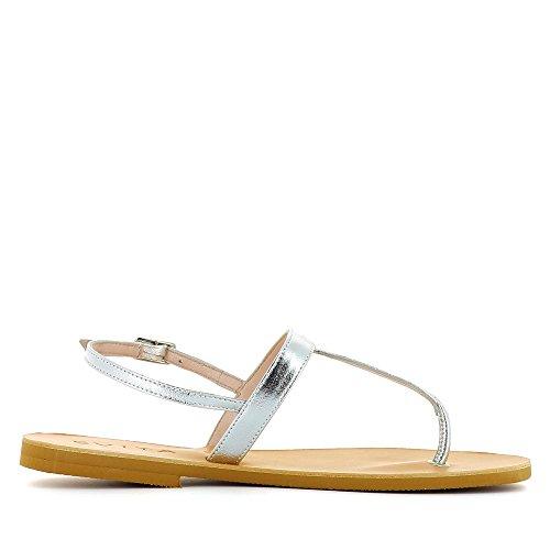 Evita Shoes Greta, Sandali donna Argento