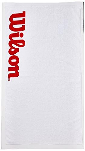 Wilson Sport-Handtuch, Sport Towel, weiß/rot, WRZ540100 -