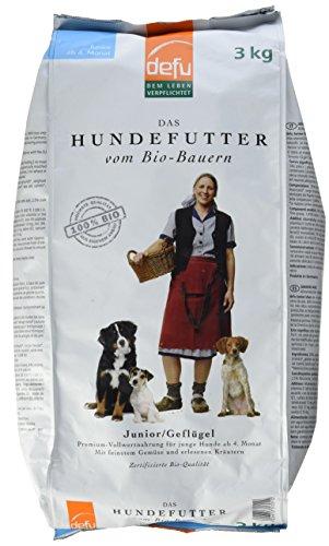 Defu Hundefutter Junior/Geflügel, 3 kg