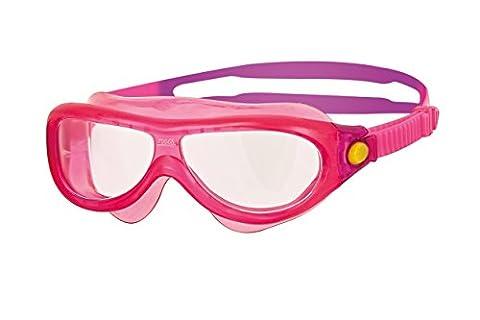 Zoggs–Masque de natation Phantom pour enfants (0–6ans) Taille unique rose