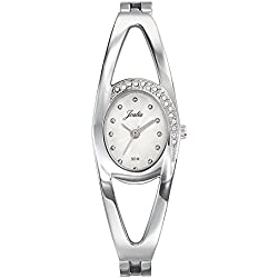 Joalia 633342-Ladies Watch-Analogue Quartz-Silver Dial-Silver Metal Strap