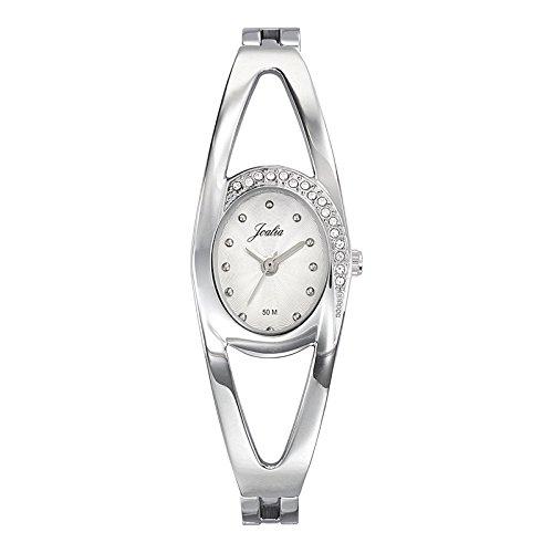 Joalia-633342-Orologio da donna con cinturino in metallo con quadrante, colore: argento