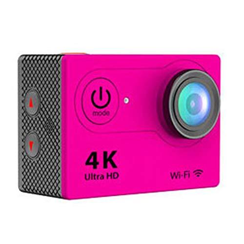 SAMoutdoor 4K Sport Action Camera︱Ultra HD-Camcorder︱WiFi Waterproof Camera︱170 Grad Weitwinkel︱2 Zoll LCD-Bildschirm︱19 Zubehör-Kits,Pink