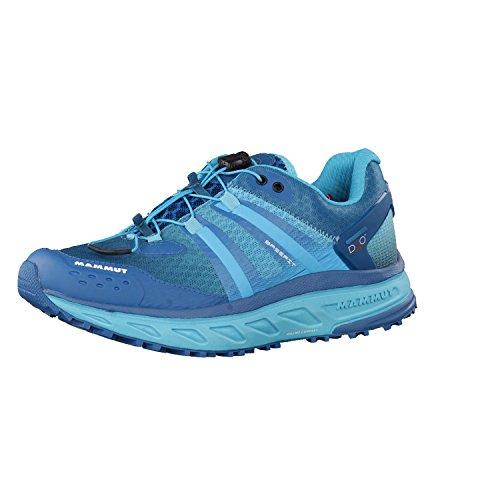 Mammut Damen Mountain Running Schuhe dark pacific-light pacific