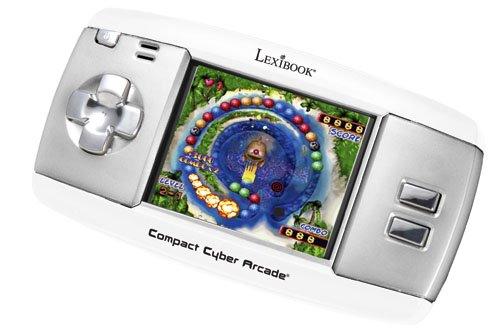 Lexibook LCD-Spielkonsole Compact Cyber Arcade Game mit 120 Spielen JL 2350