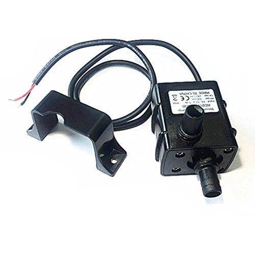 Qiorange Mini Waßerpumpe Tauchpumpe Pumpe DC 12V 5W Elektrische Minipumpe für Brunnen Aquarium und Modellbau 240L/H