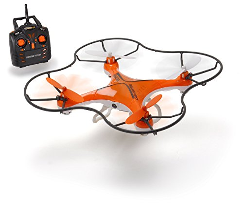 Dickie Toys 201119429 - RC DT-QC Cam Copter, funkferngesteuerter Quadrocopter mit Kamera, Reichweite bis zu 30 Metern, 19 cm