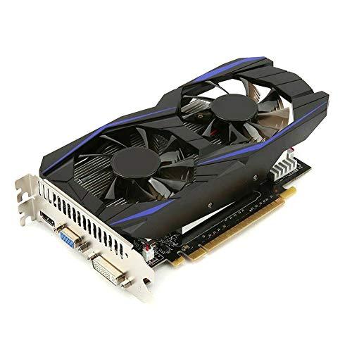 Fishyu Computergrafikkarte GTX960 4 GB DDR5 128-Bit-PCI-E-Gaming-Grafikkarte