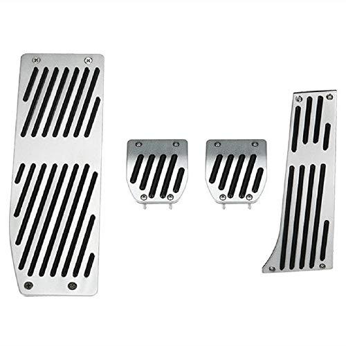 Yiqiane Auto Werkzeuge MT Fußrastenpedalsatz für BMW E30 E36 E46 E87 E90 E91 E92 E93 M3 Linkslenker zum Autos Automobil