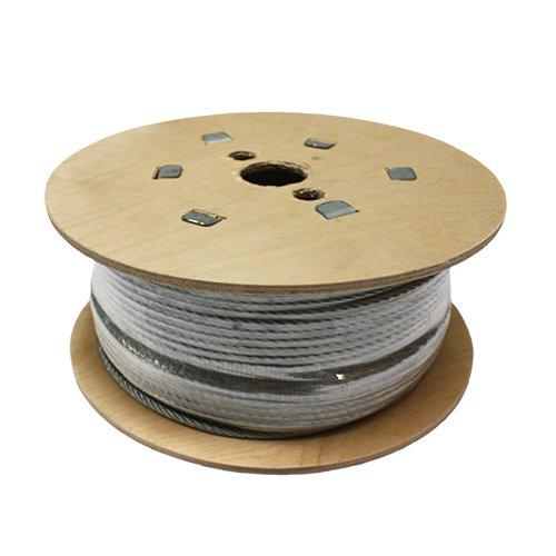 SWR gs719060050amz Stahldraht Seil, 7x 19verzinkt, rhol, 50m, 6mm, 1770N/mm2