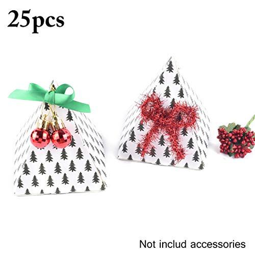 ihnachten Geschenk Box Dreieck Partei Bevorzugungs Kasten Papier Geschenkbox ()