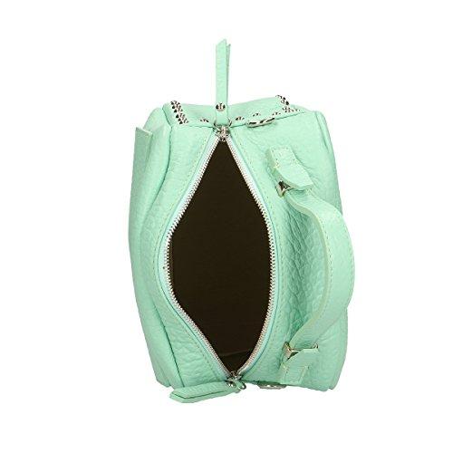 Chicca Borse Borsa a mano in pelle 23 x 18 x 12 100% Genuine Leather Marina