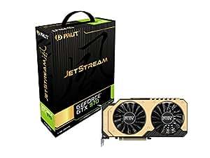 Palit NE5X970H14G2J Carte graphique Nvidia GeForce GTX970 JetStream 1304 MHz 2048 Mo PCI-Express