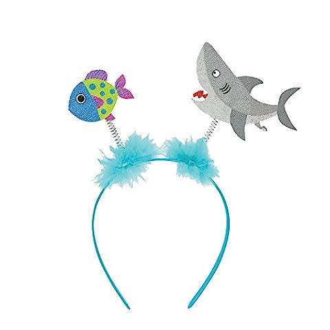 Amscan International 398393Hawaiian Shark et poissons Tête 39