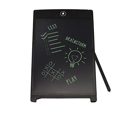 Lukzer-85-E-Writer-LCD-Writing-Pad-Paperless-Memo-Digital-TabletNotepadStylus-Drawing-or-Handwriting-Board-with-Erase-Button-Pen-to-write-NotesListsImportant-messages-make-doodles-without-using-paper-
