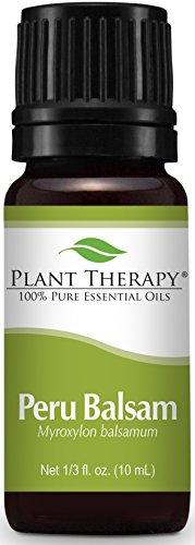 Plant Therapy Peru Balsam Essential Oil 10 mL (1/3 oz) 100% Pure, Undiluted, Therapeutic Grade (Peru Balsam Oil)