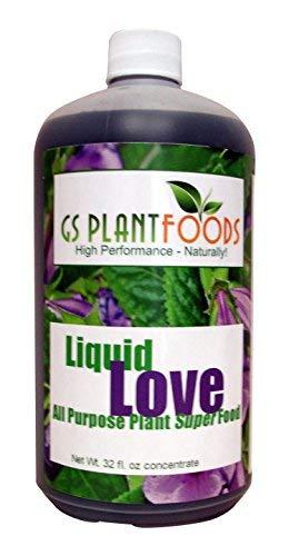 GS Plant Foods Flüssige Liebes-Allzweck-natürliche pflanzliche Nahrung 32 Unzen - Flüssige Pflanzliche Nahrung