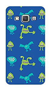 SWAG my CASE PRINTED BACK COVER FOR SAMSUNG A3 Multicolor