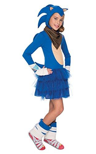 Rubie 's Offizielles Girl 's Sonic Boom, Kind Kostüm–groß