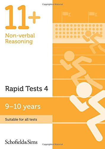 11+ Non-verbal Reasoning Rapid Tests Book 4: Year 5, Ages 9-