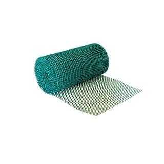 Tierzaun/Gartennetz, 80cm hoch, 10m lang, Kunststoff, robust, PVC-Rand