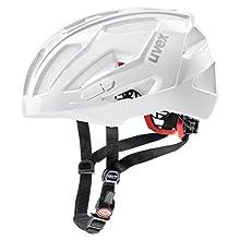 uvex Unisex – Erwachsene, quatro xc Fahrradhelm, white, 52-57 cm
